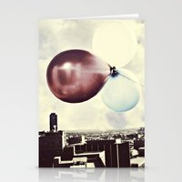 skyline Stationery Cards featuring Skyline by maybesparrowphotography