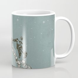 Flight of the Salary Men (color option) Coffee Mug