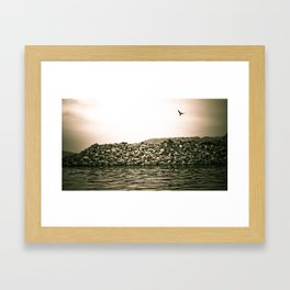 At the River... Framed Art Print