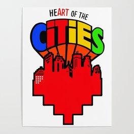 #heArtoftheCities Poster