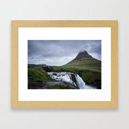 Kirkjufell - Iceland Framed Art Print