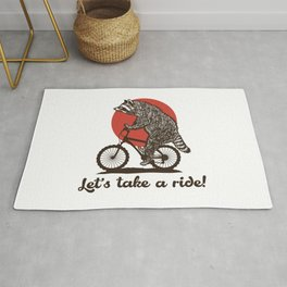 Let's take a ride Rug