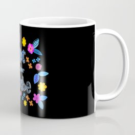 Bright Floral 'Not Your Babe' print Coffee Mug