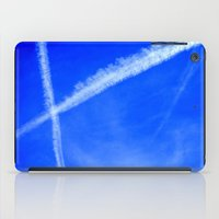 writing iPad Cases featuring Sky Writing by duglessp