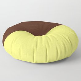 Choc Custard Floor Pillow