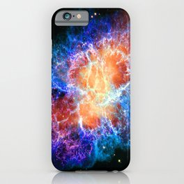 Crab Nebula #2 iPhone Case