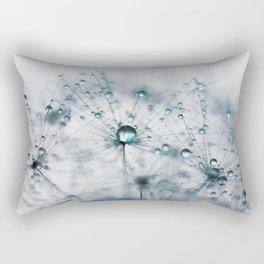 dandelion blue Rectangular Pillow