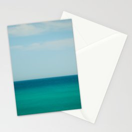 Sea & Sky abstract Stationery Cards