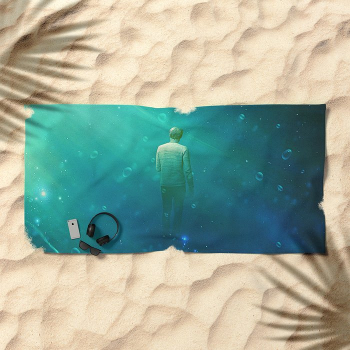 From here to where Beach Towel