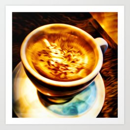 Coffee Espresso Art Print