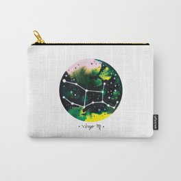 Virgo Constellation Watercolor Carry-All Pouch