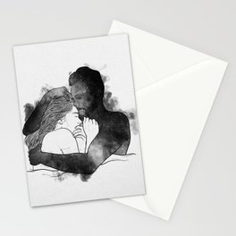 The hug. Stationery Cards