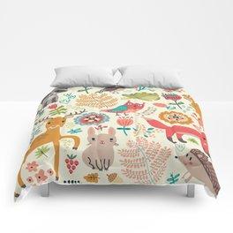 Woodland Animal Pattern Comforters