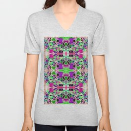 Tate - Created by a Genius (Square/Sym/Gre/Inv) Unisex V-Neck
