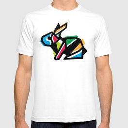 Rainbow Anigami Bunny T-shirt
