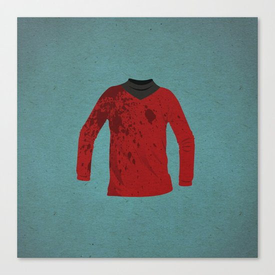 RedShirt Canvas Print
