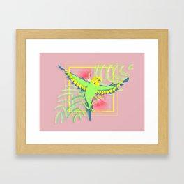 Raster Framed Art Print