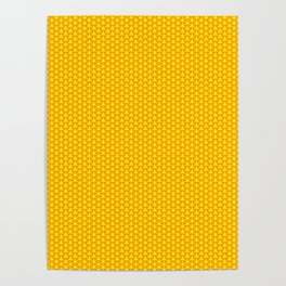 Sweet Yellow Circle Poster