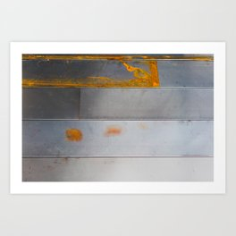 Bridger Rust Art Print
