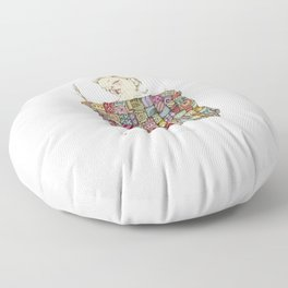 sleeping child Floor Pillow