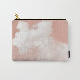 Floating Cotton candy in blush pink Carry-All Pouch