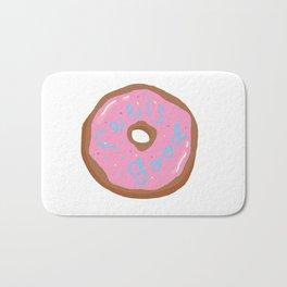 Feels good, donut? Bath Mat