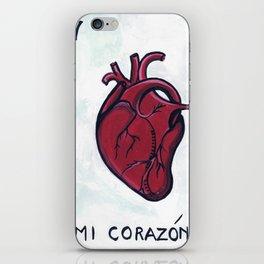Mi Corazon iPhone Skin
