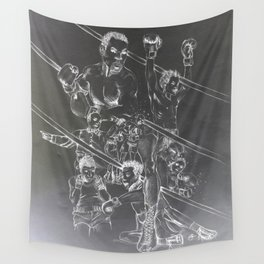 Boxing and Life Wall Tapestry