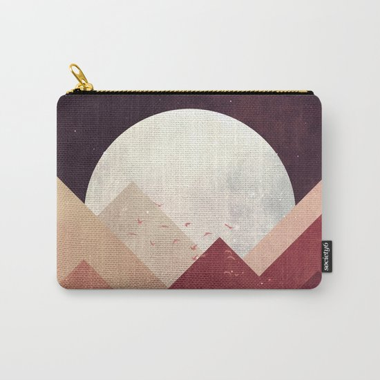 Midnight Mountains Carry-All Pouch