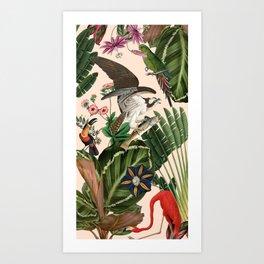 Tropic Thunder Art Print