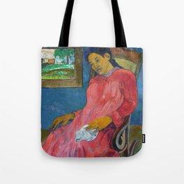 Faaturuma (Melancholic) by Paul Gauguin Tote Bag