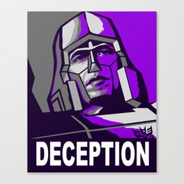 Deception 2 Canvas Print