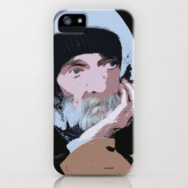 Homeless Portrait iPhone Case