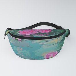 Lotus Floating On Lily Pads Fanny Pack