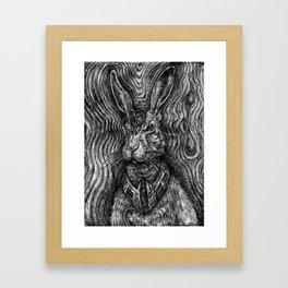 Hare Guardian Framed Art Print