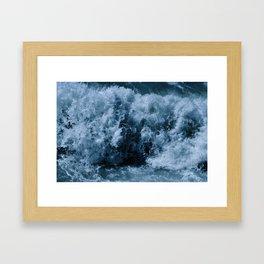 Breaker Framed Art Print