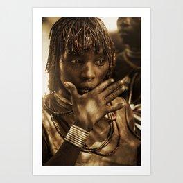 Ethiopia 2 Art Print
