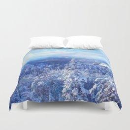 Blue Land II Duvet Cover