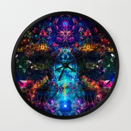 In The Mind's Eyes Wall Clock