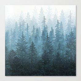 My Misty Secret Forest Canvas Print