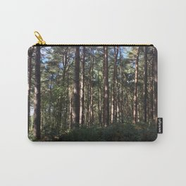 Trees Over Ferns. Rushmere Country Park, Bedfordshire UK Carry-All Pouch