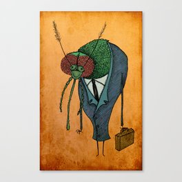 Executive Mosquito Canvas Print