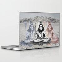 shiva Laptop & iPad Skins featuring Shiva by Jonnea Herman