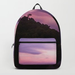 mahinapua golden hours purple reflections Backpack