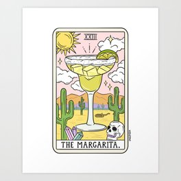 Margarita Reading (Updated) Art Print