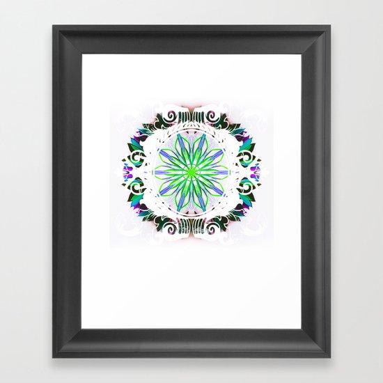 MAHA Framed Art Print