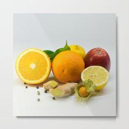 Vitamins Metal Print
