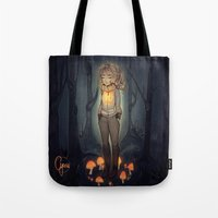 cyarin Tote Bags featuring Whisp by Cyarin