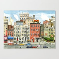 Physical Graffiti Building Canvas Print