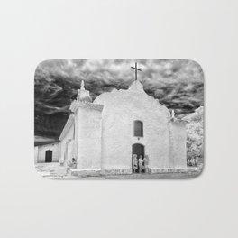 Church Black and White Bath Mat
